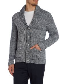 Dunn Shawl Neck Button Cardigan