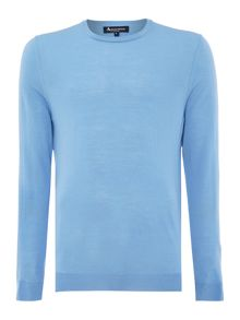 Rolfe Plain Crew Neck Pull Over Jumper