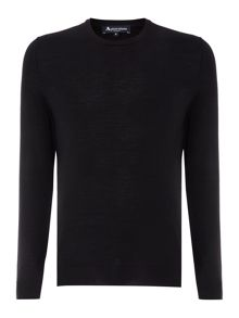 Aquascutum Rolfe Plain Crew Neck Pull Over Jumper