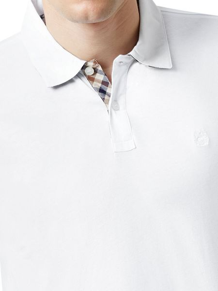 Aquascutum Kendrick Long Sleeve Polo