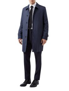 Aquascutum Langden Single Breasted Coat