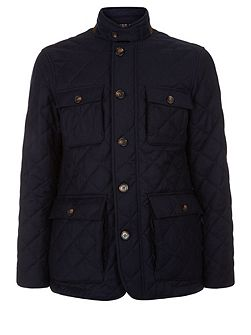 Scarrow Quilted Flannel Jacket