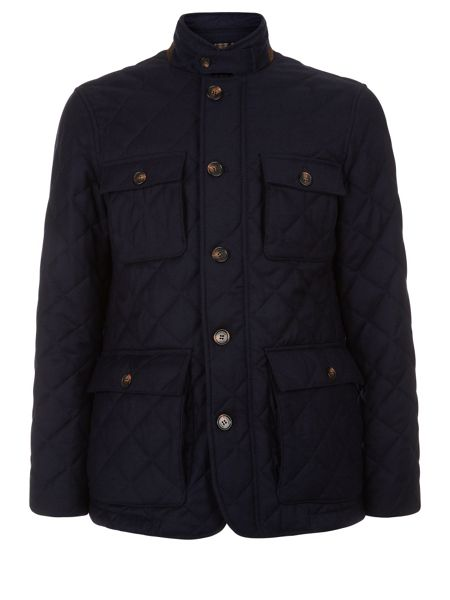 Aquascutum Scarrow Quilted Flannel Jacket
