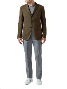 Aquascutum Bingham Blazer with Club Check lining