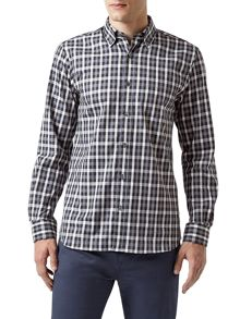 Aquascutum Harley Club Check Long Sleeve Shirt