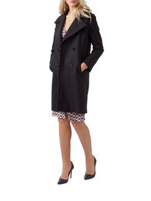 Aquascutum Edith Double Breasted Coat