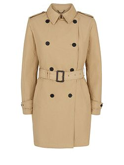 Aquascutum Murray Double Breasted Wadded Trench