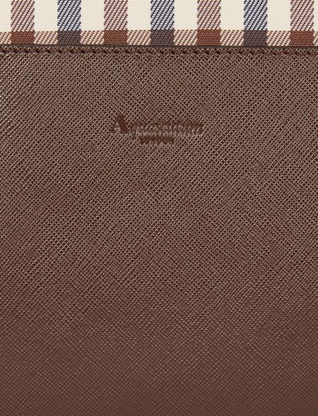 Aquascutum Club check tote bag