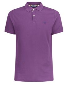 Aquascutum Hilton Short Sleeve Piquet Polo