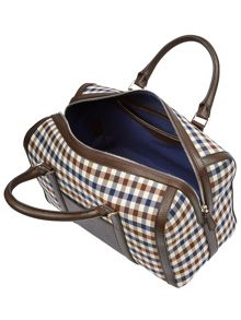 Aquascutum Club Check Bowling Bag