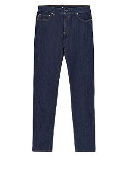 Edgar Dark Wash Mid Rise Jeans