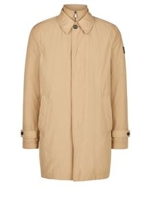 Aquascutum Kirkman Zip Front Single Breasted Trench