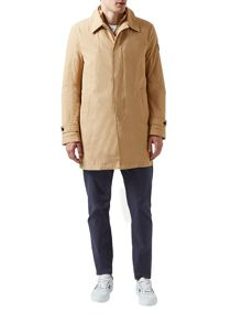 Kirkman Zip Front Single Breasted Trench