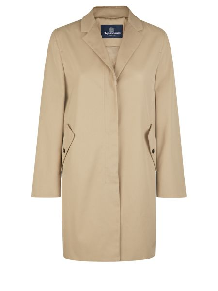 Aquascutum Esme Cropped Swing Coat