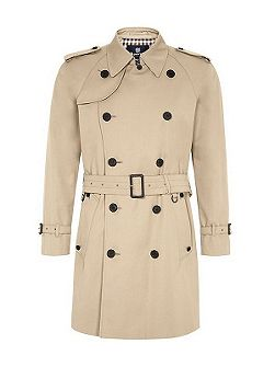 Corby double breasted trench