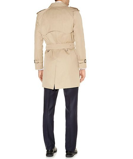 Aquascutum Corby double breasted trench