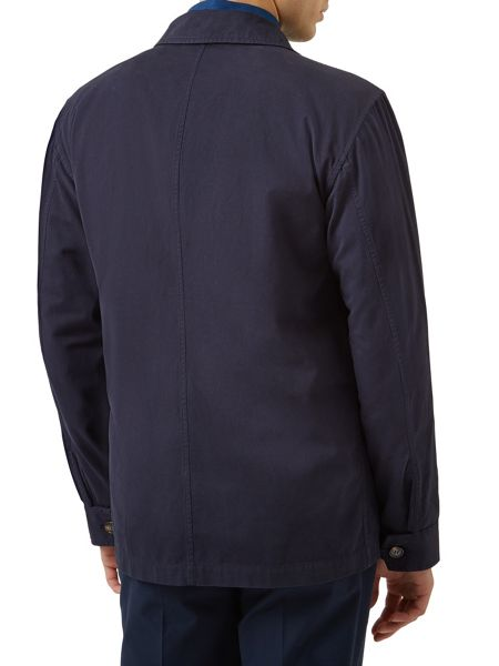 Aquascutum Wyke garment dyed cotton field jacket