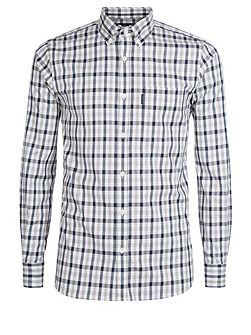 Emsworth long sleeve club check shirt