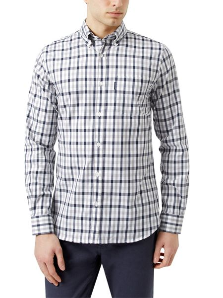 Aquascutum Emsworth long sleeve club check shirt