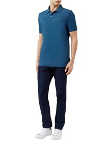 Aquascutum Hill Club Check Polo