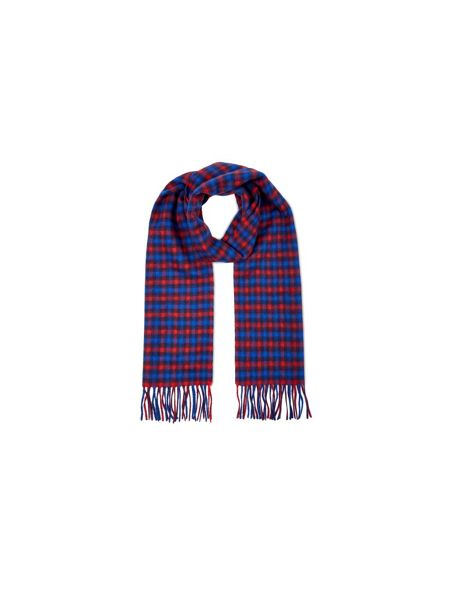 Aquascutum Club check lambswool scarf