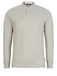 Aquascutum Hilton Long Sleeve Polo