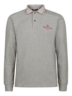 Preston Long Sleeve Pique Polo