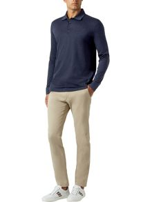 Aquascutum Roscoe Long Sleeve Polo