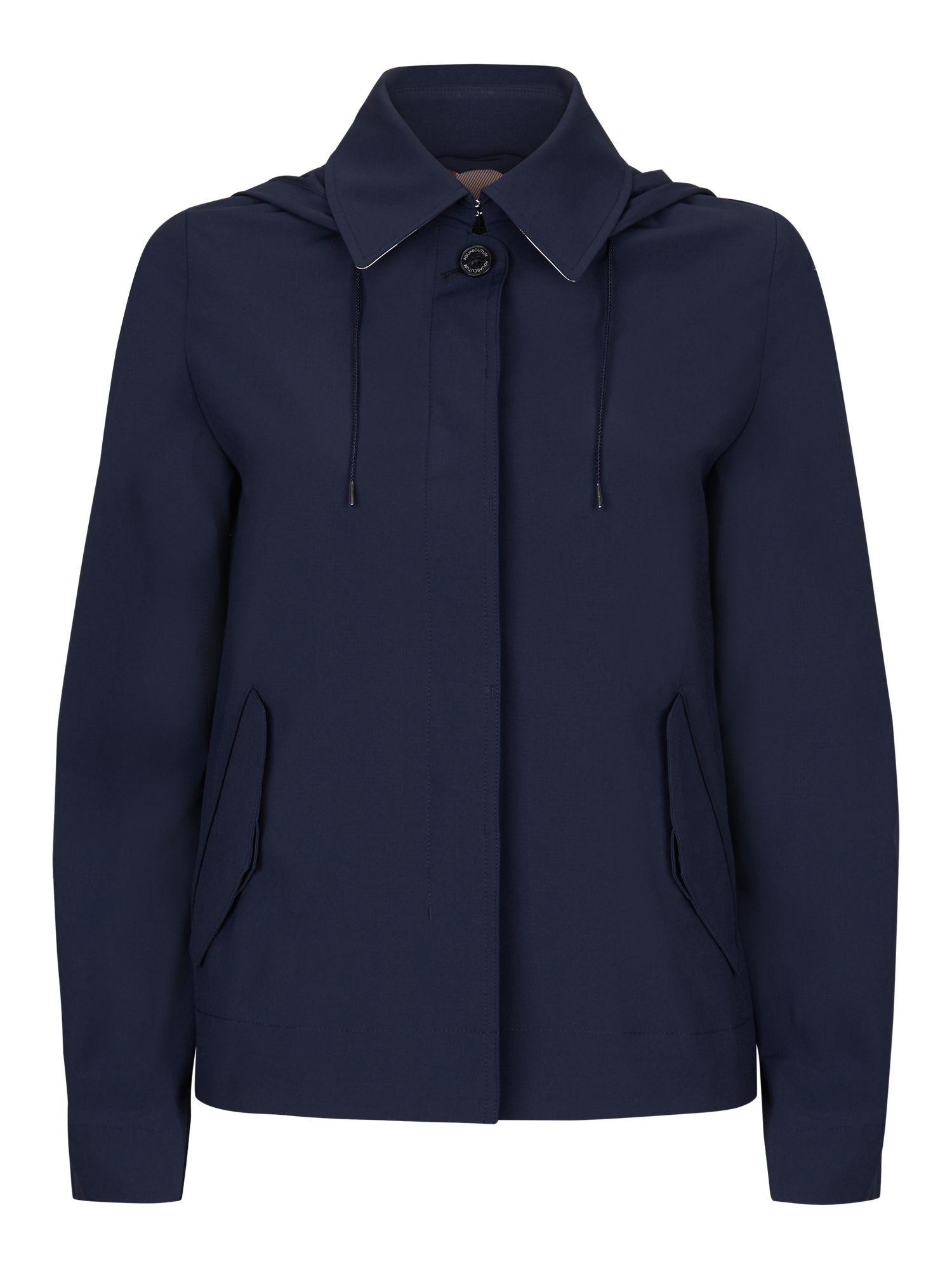Aquascutum Eldred Hooded Jacket, Blue
