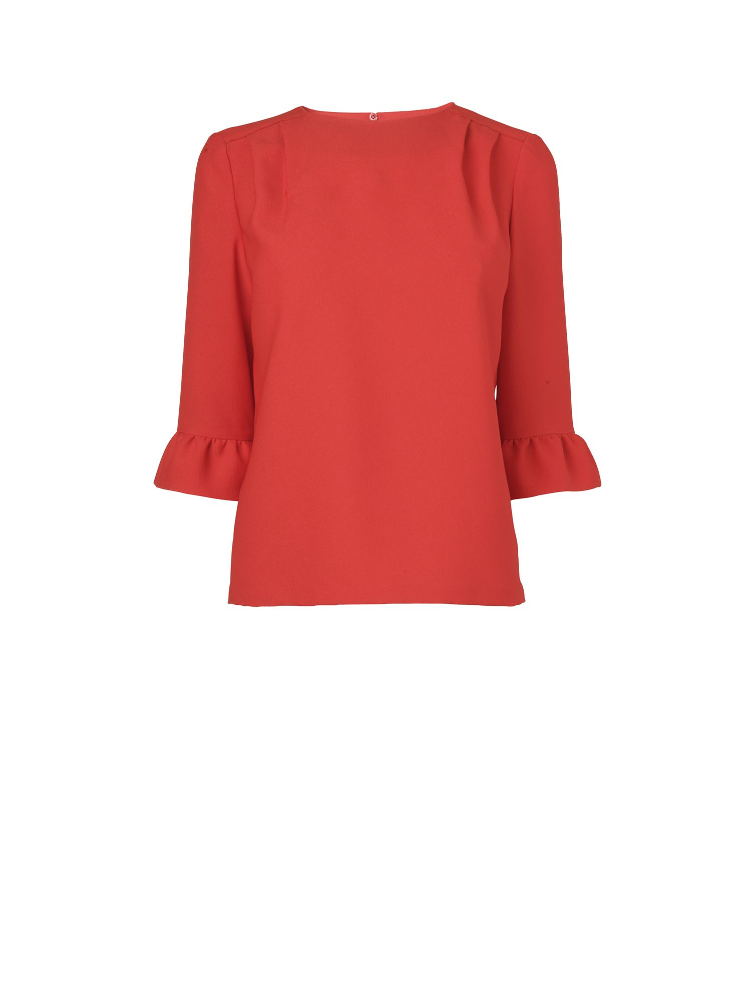 Jaeger Womens Jaeger Bell slv blouse, Red 173536487 product image