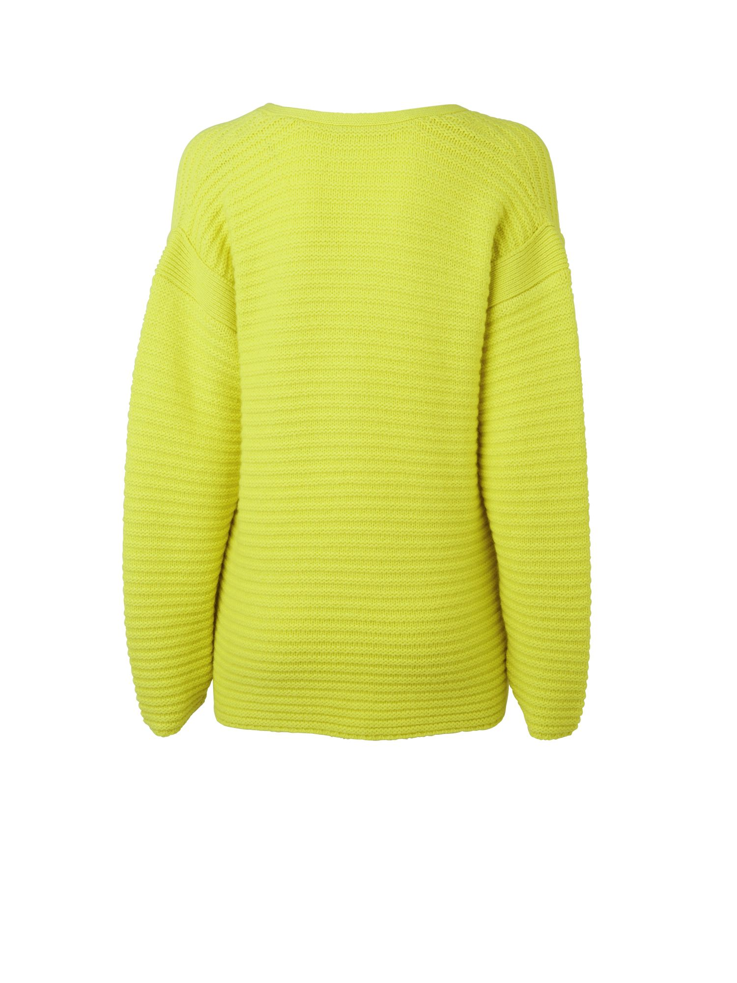 V neck panelled jumper
