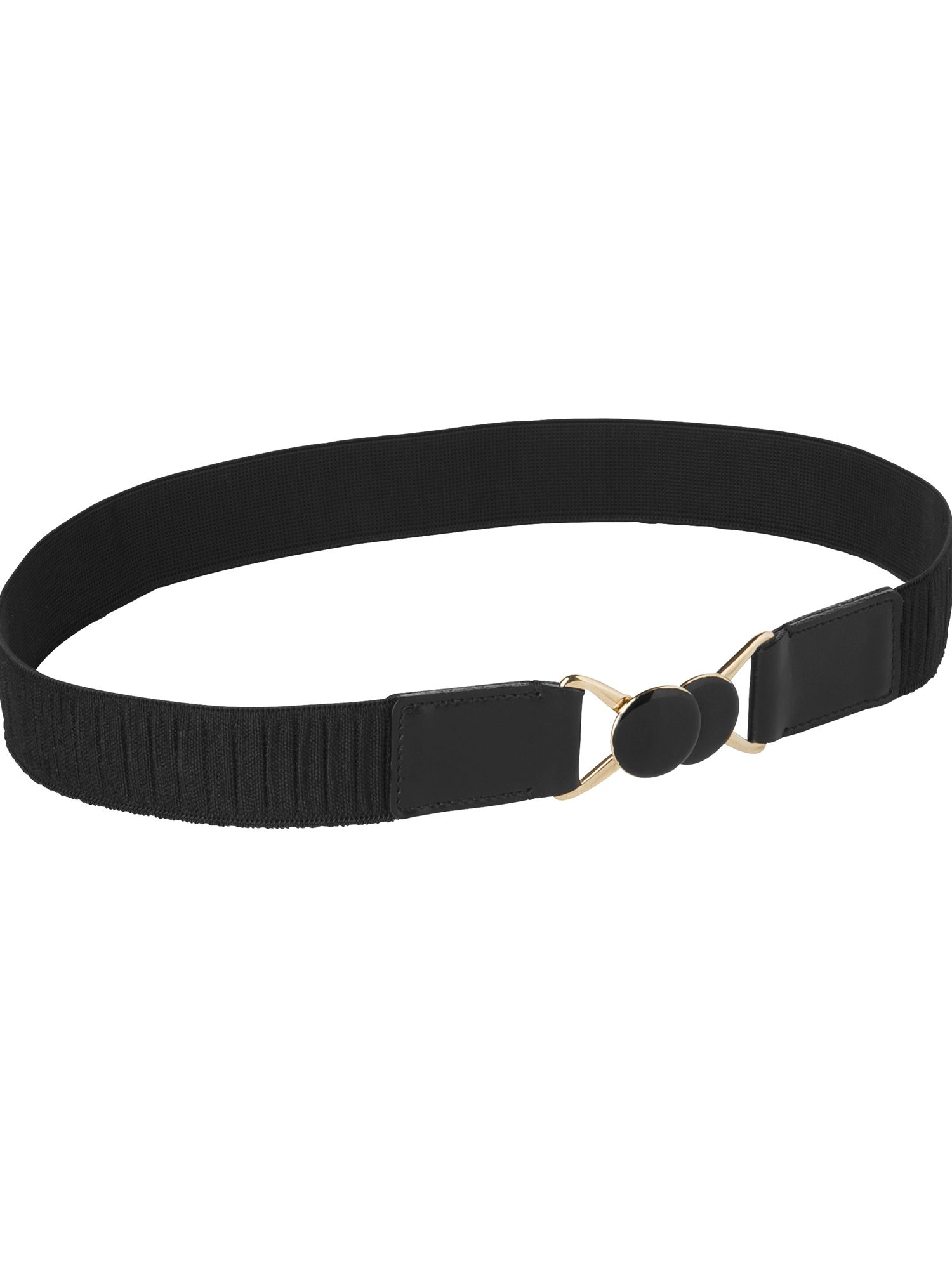 Metal circle buckle waist belt