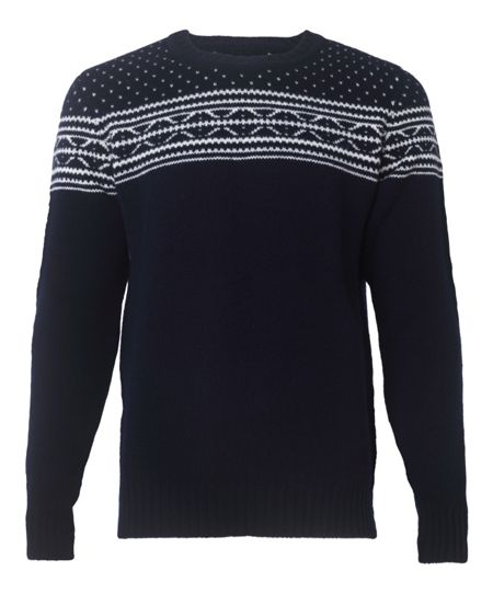 Jaeger Chunky fairisle sweater