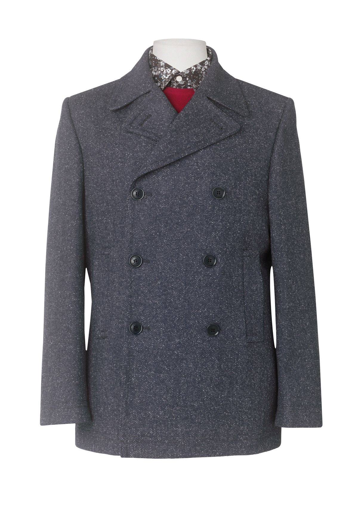 Donegal pea coat