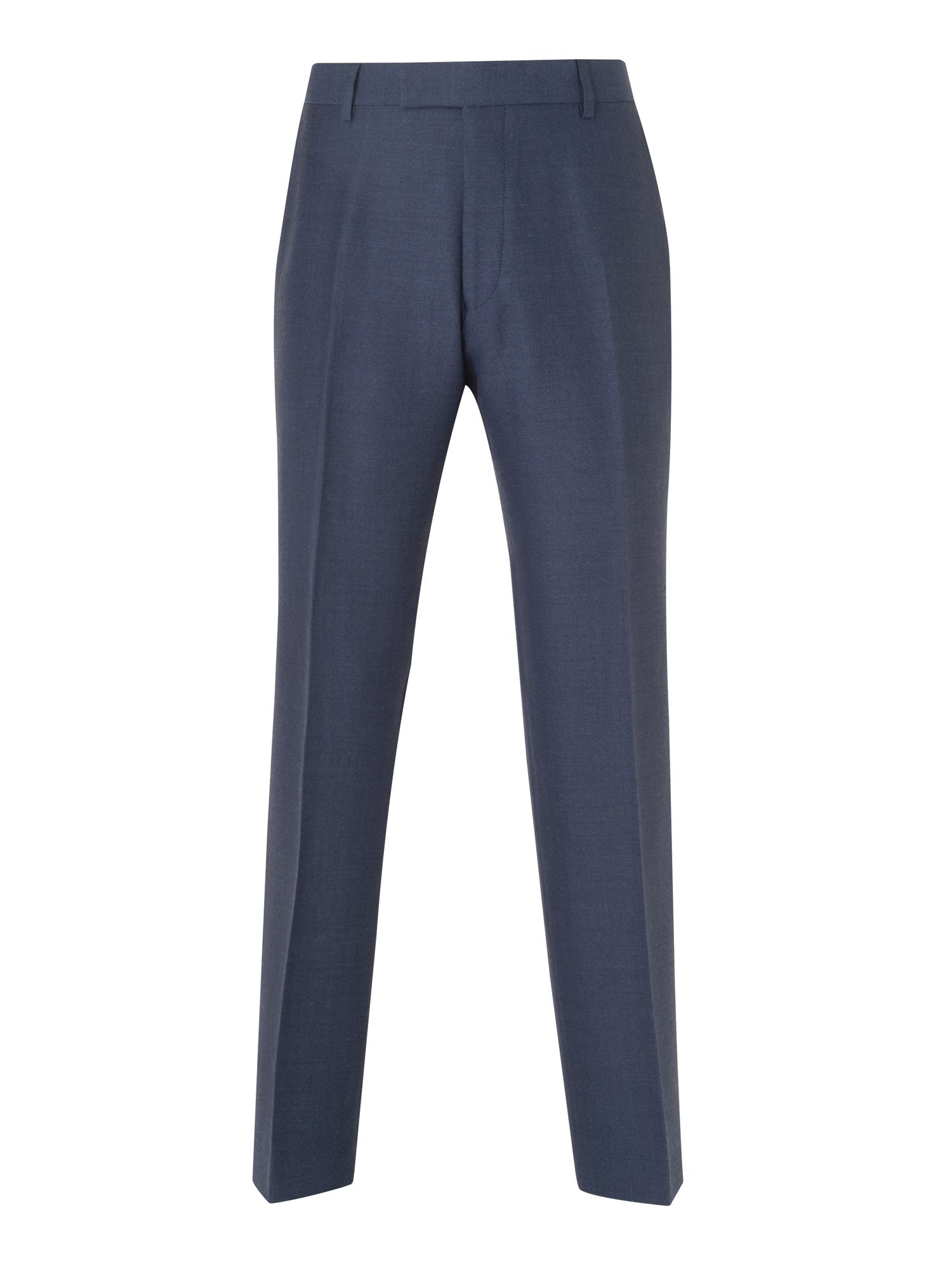 Lanolin hopsack twist trousers