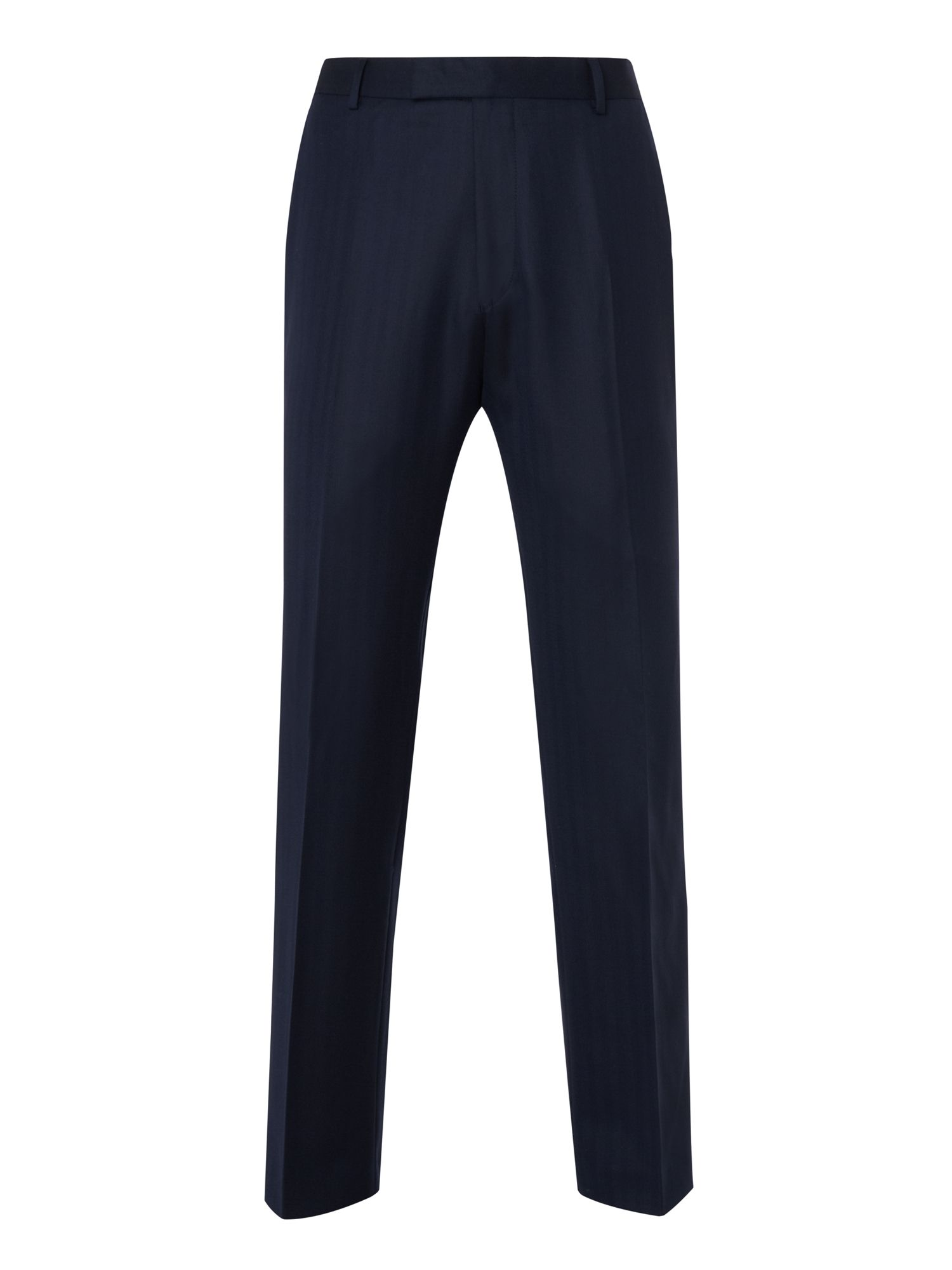 Herringbone 160s trousers