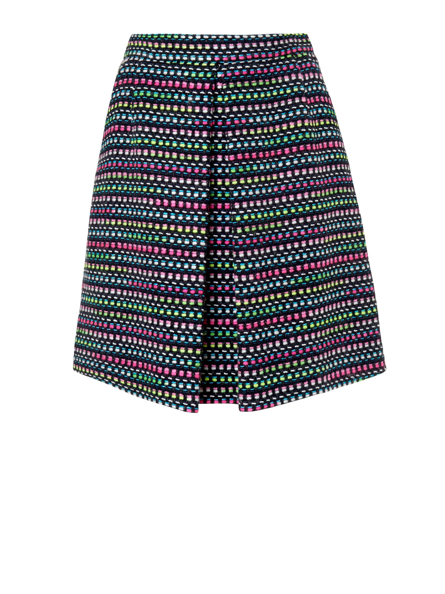 Centre pleat skirt