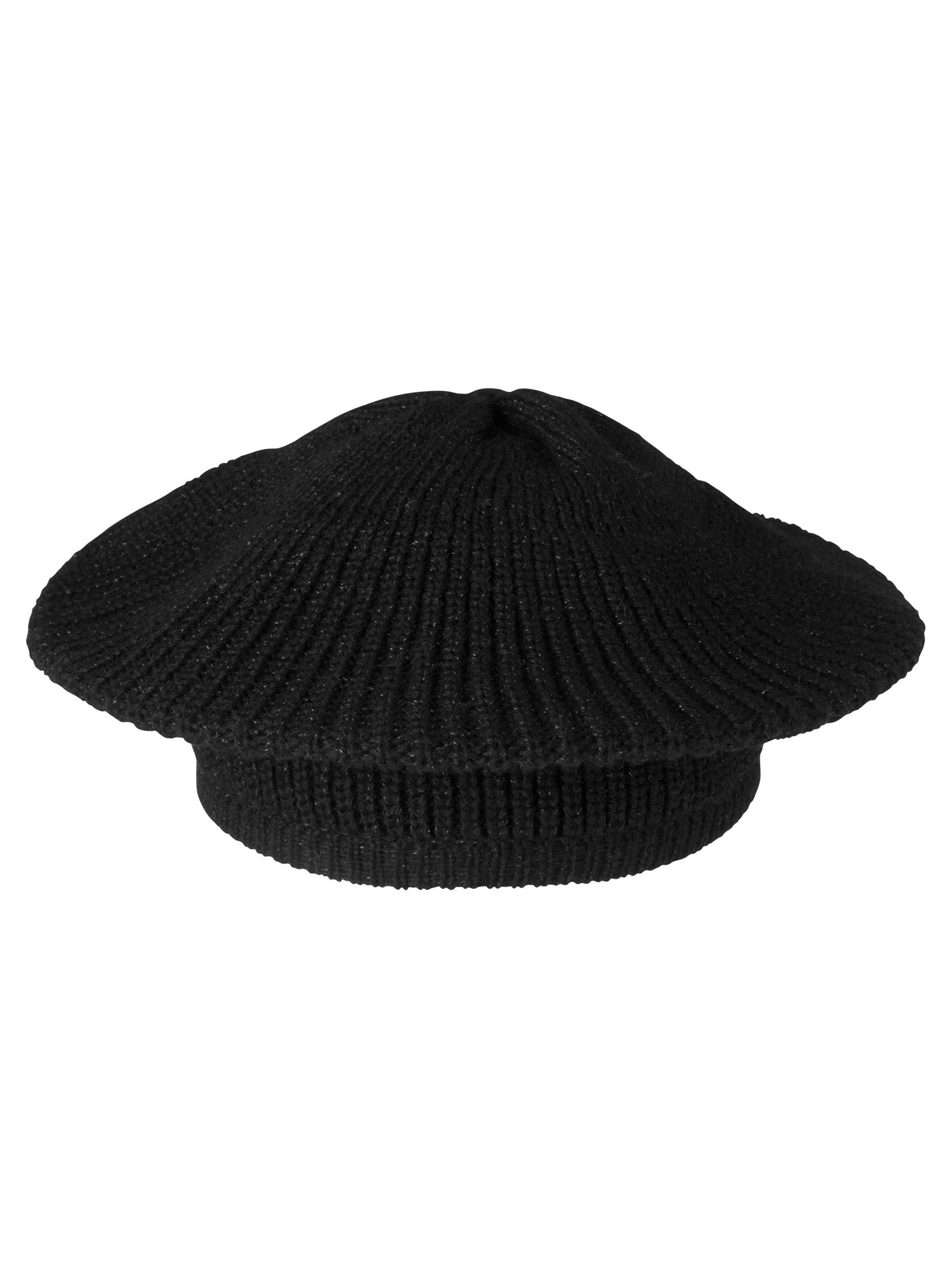 Beret with lurex