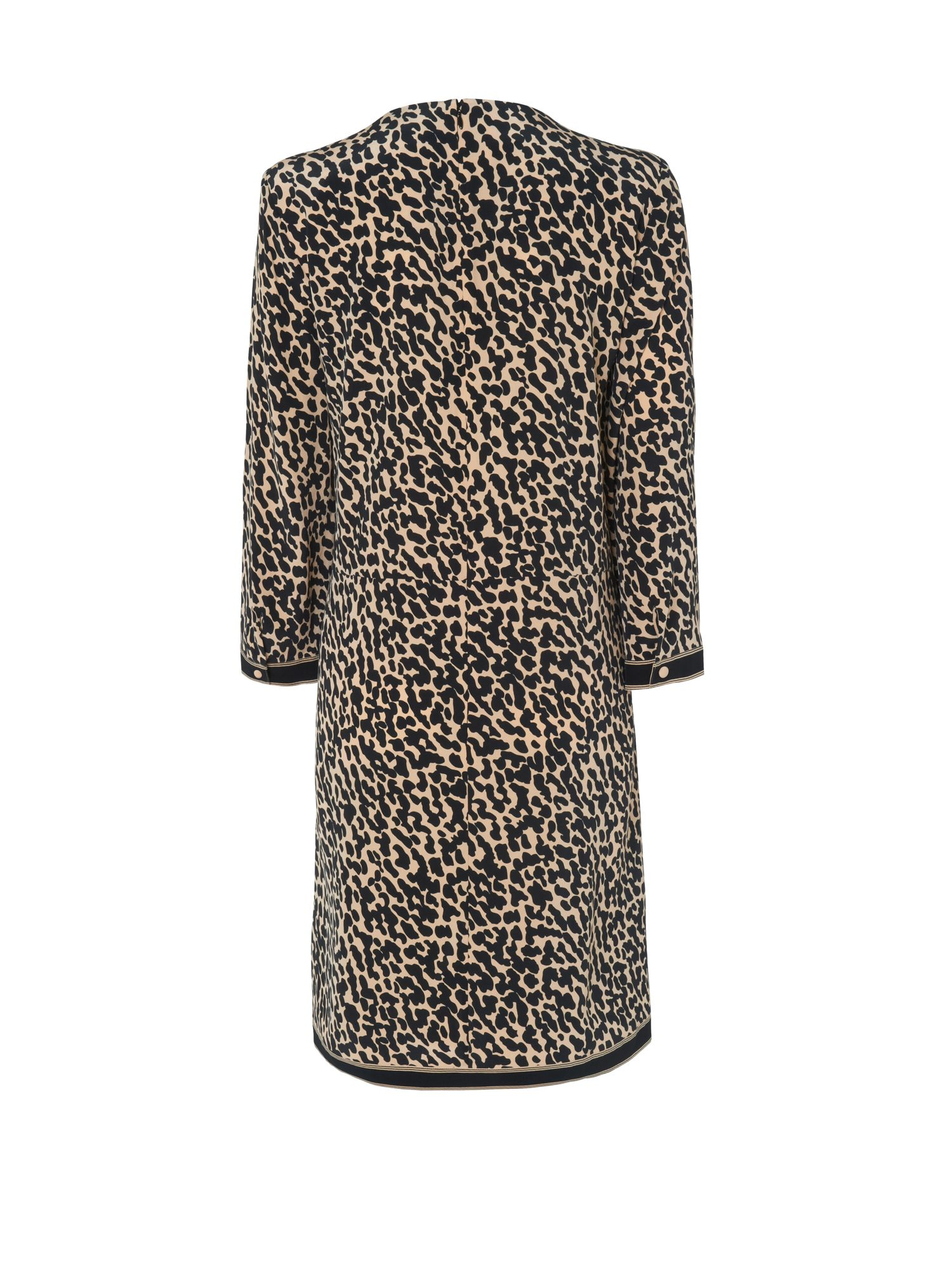 Cheetah tunic dress