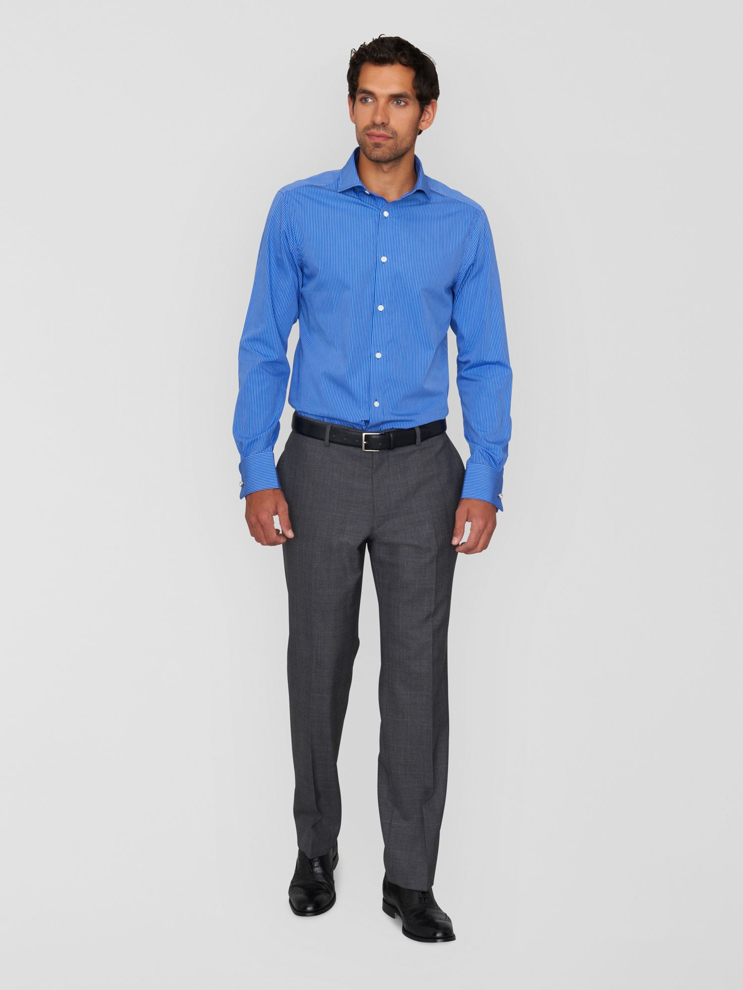 Prince of Wales overcheck trousers