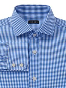 Small gingham shirt