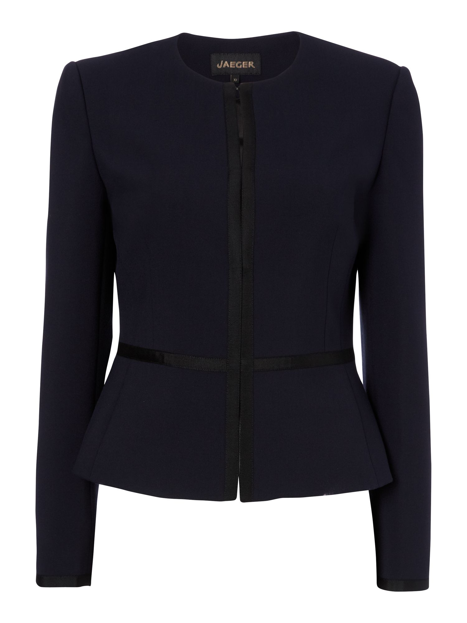 Grosgrain Trim Jacket