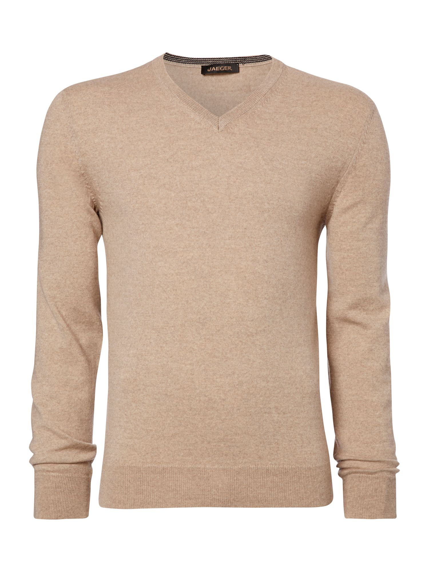 V-neck pure merino jumper