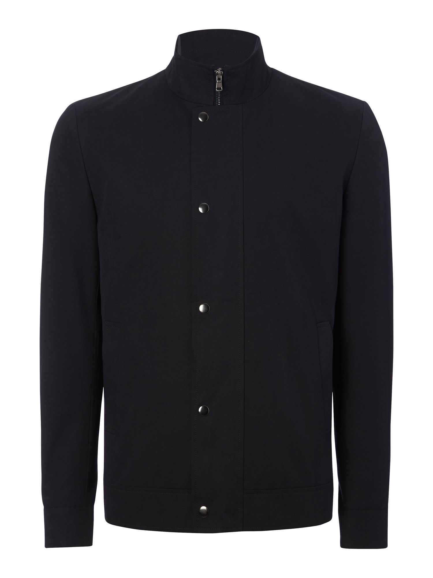 Funnel Neck Harrington Jacket