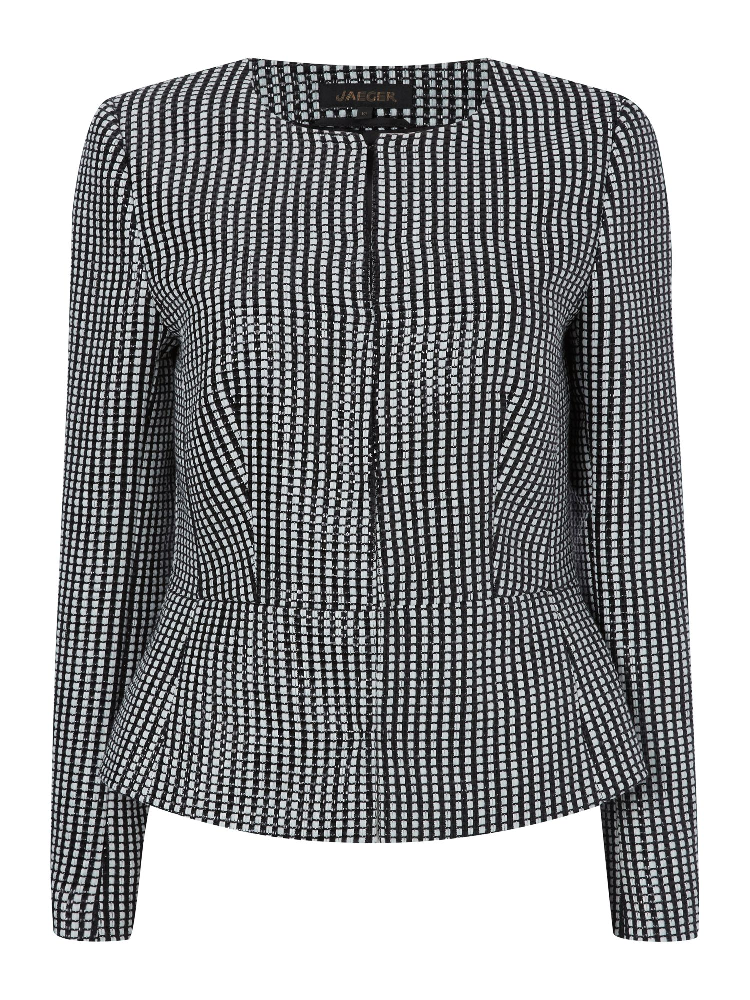 Graphic square jacket