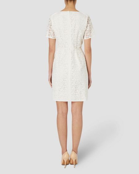 Jaeger Binded Lace Dress