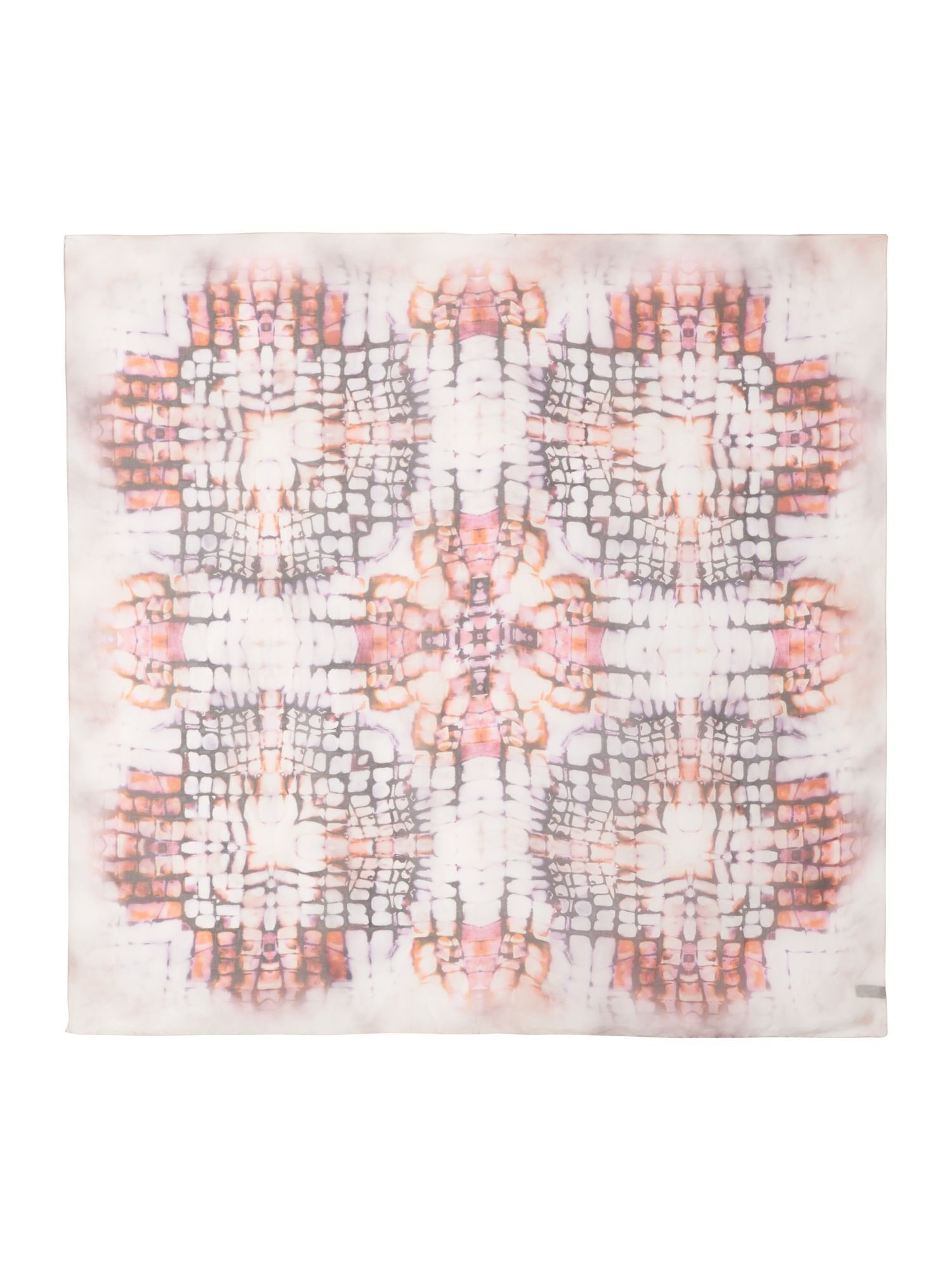 Ikat Animal Scarf