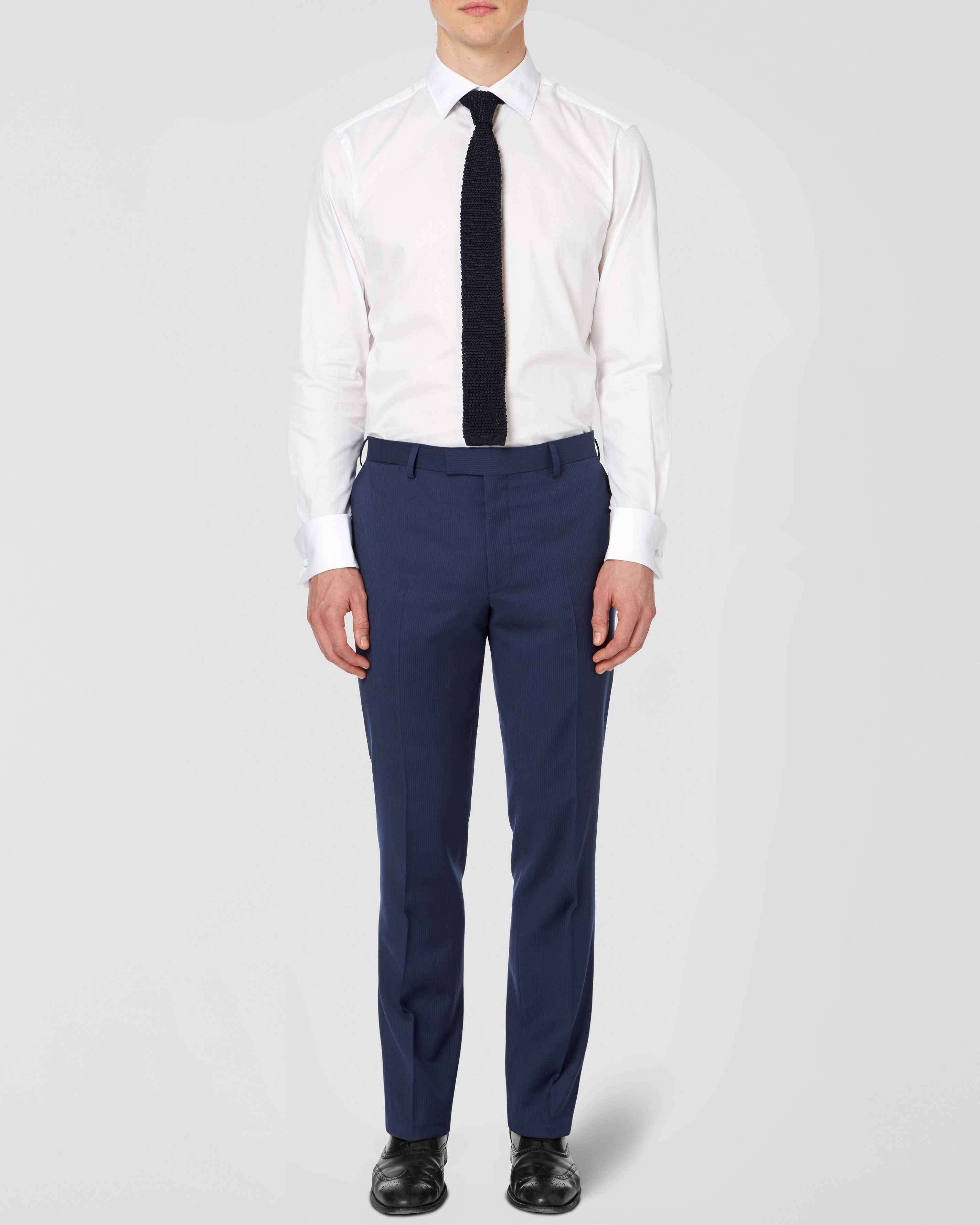 Eastbury pinstripe formal suit trousers