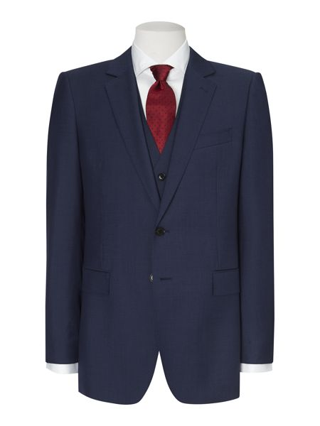 Jaeger Sharkskin single breasted suit jacket
