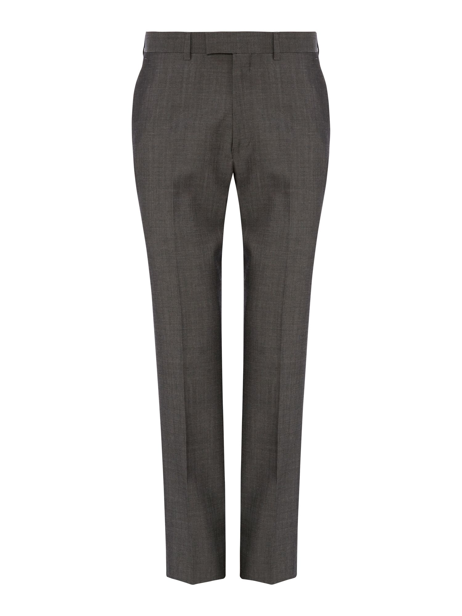 Sharkskin formal suit trousers
